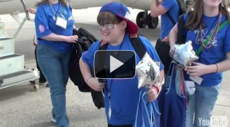 Kyle Arriving in Orlando! - Magical Moment 2011