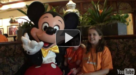 Memphis Meeting Mickey Mouse!- Magical Moment