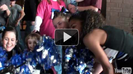 Abby Cheering Like a Pro! - Magical Moment 2011