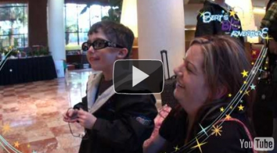 Brayden - Magical Moment 2010 - Hotel Arrival