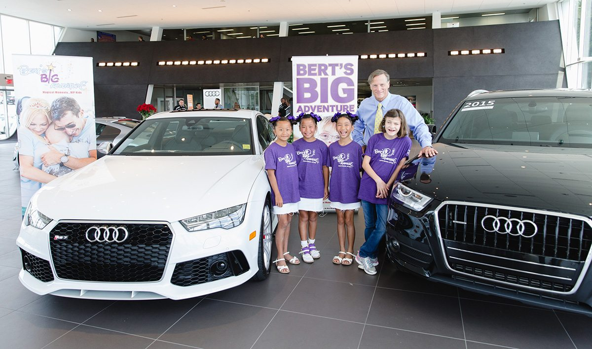 The Raffle Win An Audi And Help Berts Big Adventure Berts Big - Audi of atlanta
