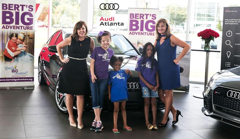Audi Atlanta Berts Big Adventure - Audi atlanta