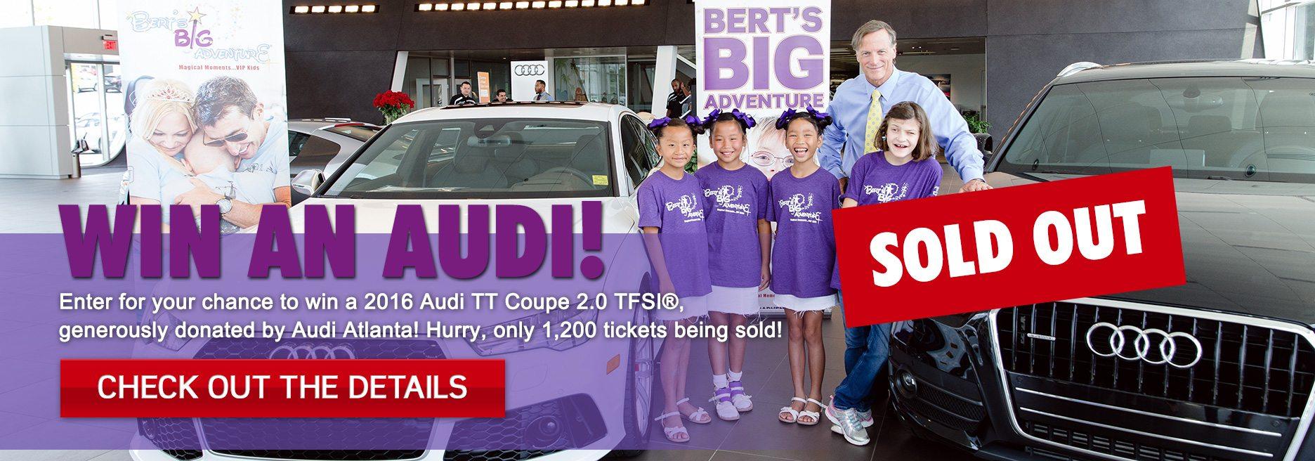 Win An Audi - Audi atlanta