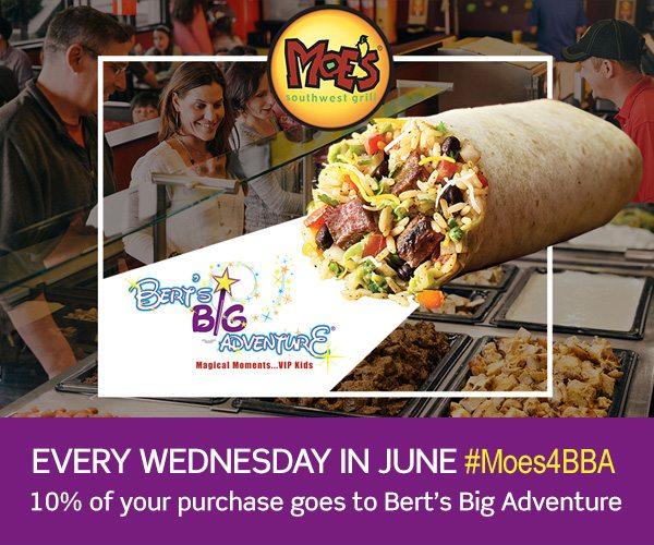 Moe's Wednesday's in June