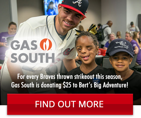 Gas South Donates $25 per Braves Strike Out
