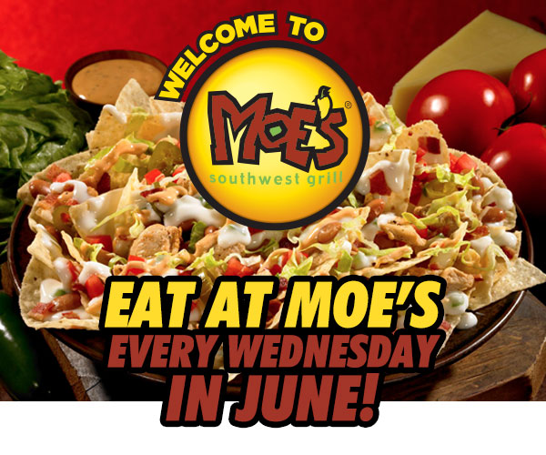 Eat at Moe's in June!
