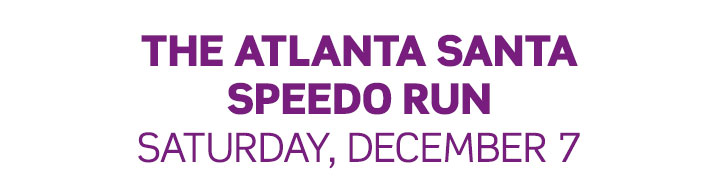 Atlanta Santa Speedo Run 2019