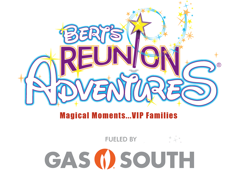 Bert's Reunion Adventures fueled by Gas South