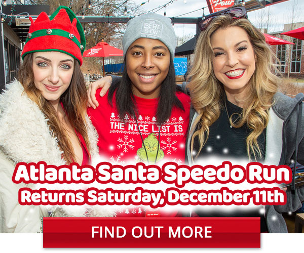 Atlanta Santa Speedo Run - December 11th